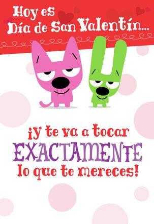 hoops&yoyo™ Smooch Spanish-Language Valentine's Day Card With Sound