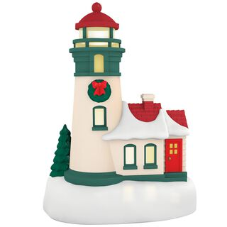 Li'l Lighthouse Mini Ornament With Light,