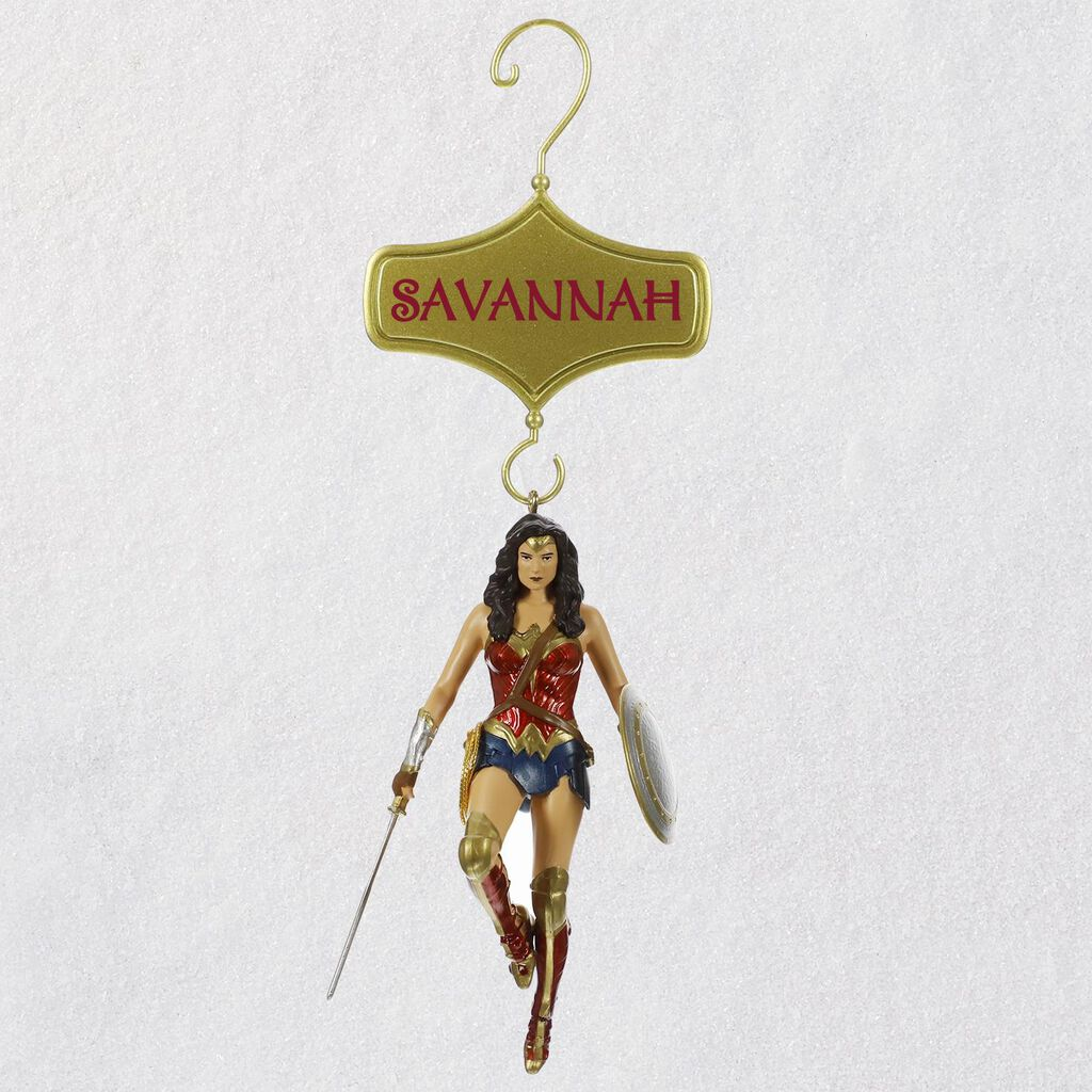 Wonder Woman™ Personalized Ornament - Personalized Ornaments - Hallmark