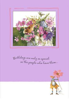 Wonderful Day Birthday Card,