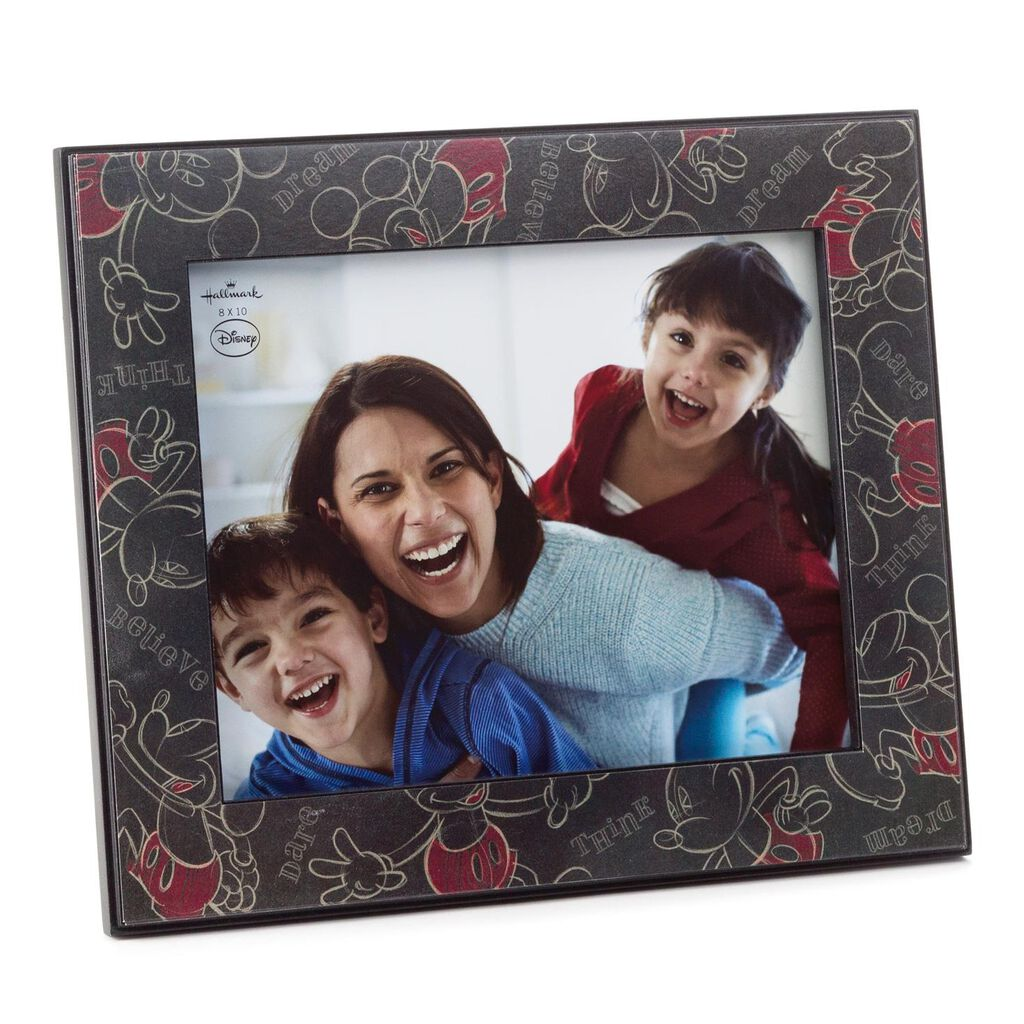 Disney Mickey Mouse Wooden Picture Frame, 8x10 - Picture Frames ...
