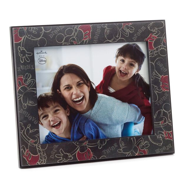 disney mickey mouse wooden picture frame 8x10 - Mickey Mouse Photo Frame