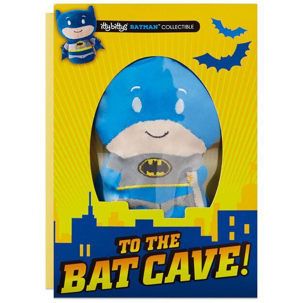 itty bittys Batman Birthday Card With Stuffed Animal Greeting – Batman Birthday Cards