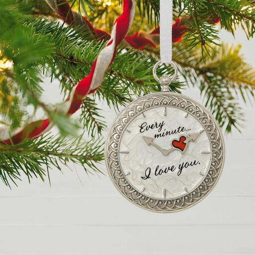 Time For Love Metal Ornament