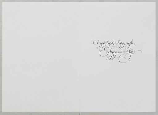 Bride and Groom Wedding Card,