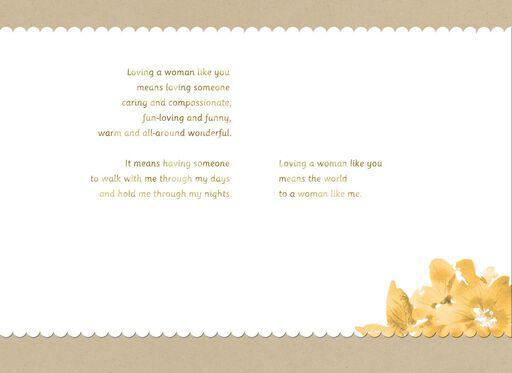Beautiful Woman Love Card,