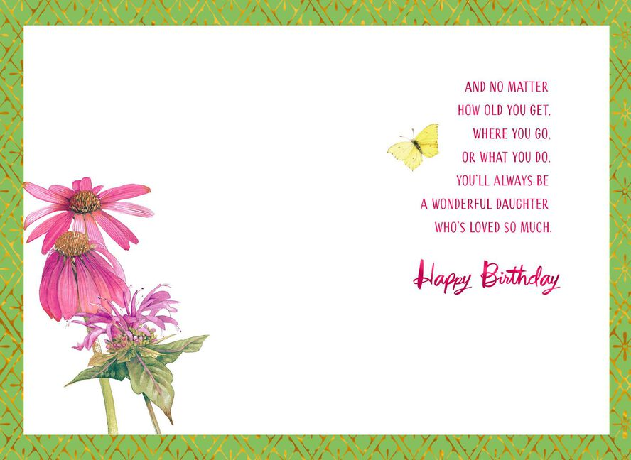Marjolein Bastin You Are Loved Birthday Card For Daughter Greeting