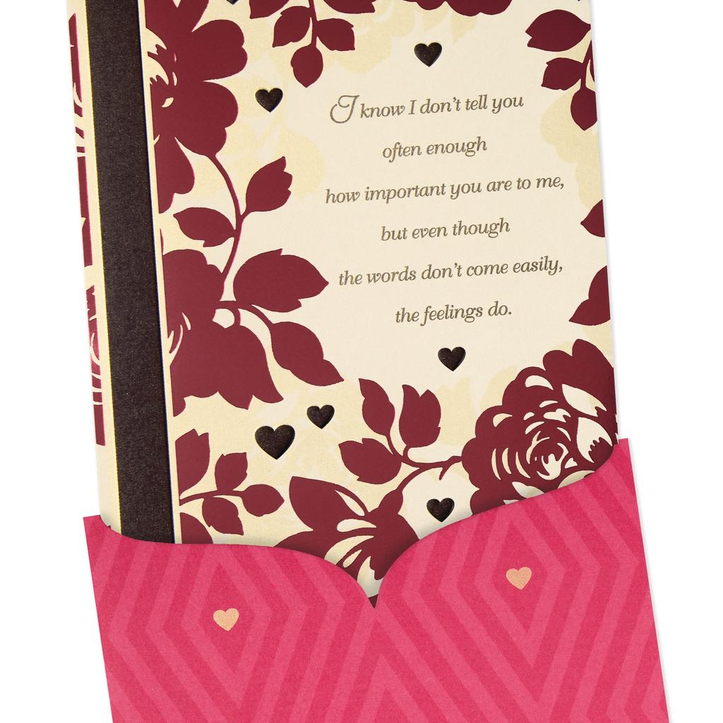 Feel My Love Romantic Valentines Day Card Greeting Cards Hallmark