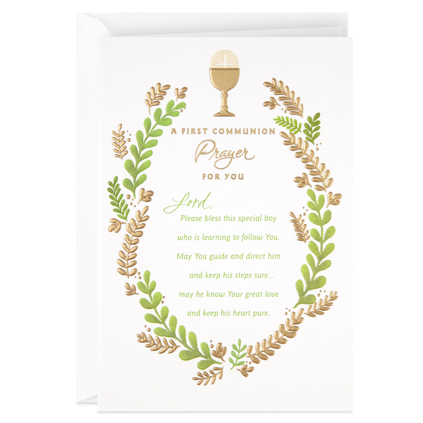 graphic about Printable First Communion Cards called To start with Communion Playing cards Hallmark