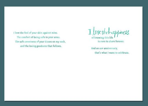 Our Happy Life Anniversary Card,