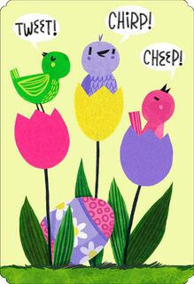 Totally Awesome Granny Easter Card,