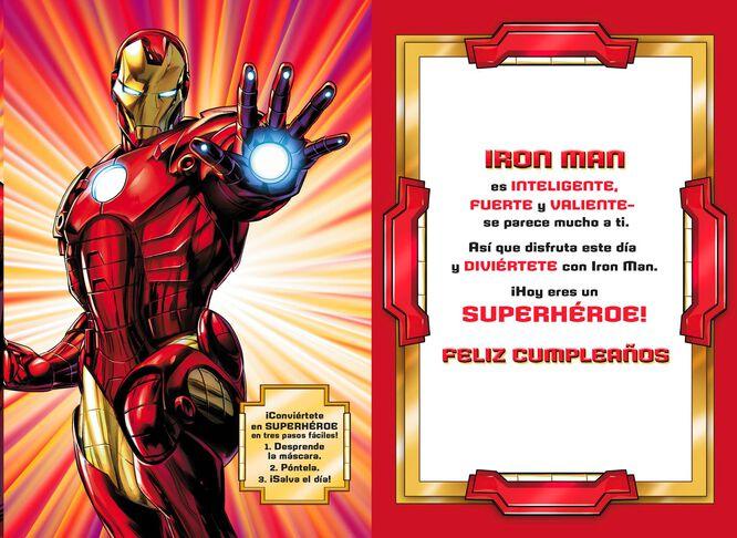 Iron man spanish language birthday card greeting cards hallmark iron man spanish language birthday card bookmarktalkfo Images