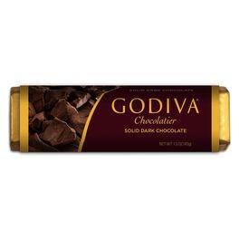 Godiva Solid Dark Chocolate Bar, , large