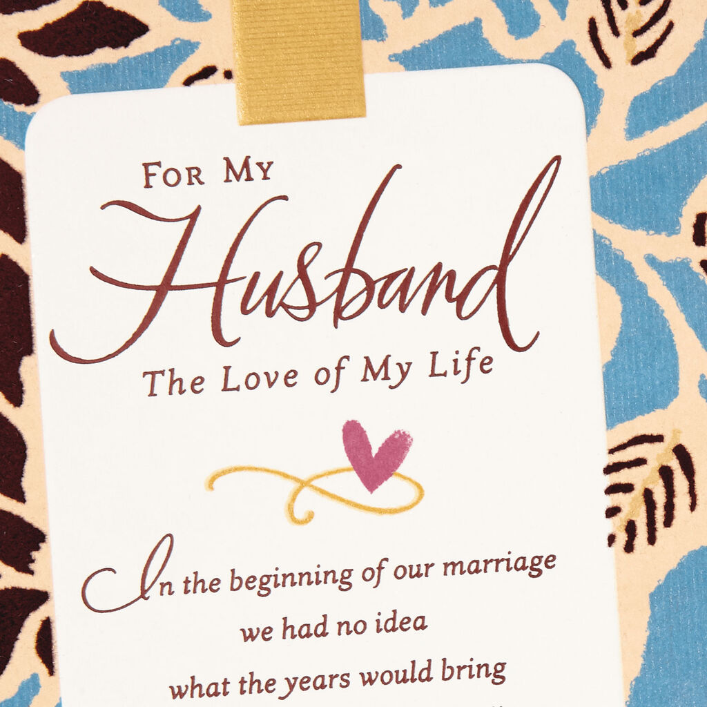7e94622977d Love of My Life Religious Anniversary Card for Husband - Greeting ...