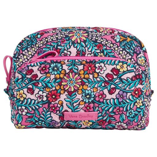 1345e33e9 Vera Bradley Iconic Medium Cosmetic Bag in Kaleidoscope, ...