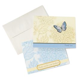 Butterfly Sympathy Thank You Notes, Pack of 50, , large