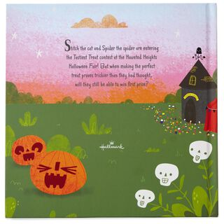 Stitch & Spider and the Trickiest Treat! Halloween Book,