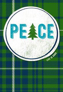Life is Good® Peace Christmas Card,
