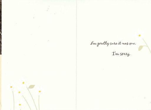 Something Went Wrong Apology Card,