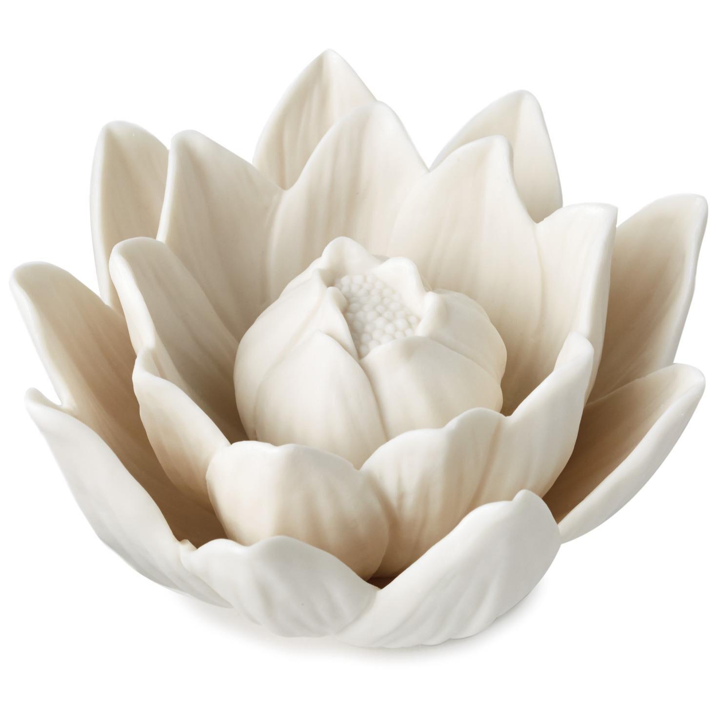 Lotus Flower Paperweight Desk Accessories Hallmark