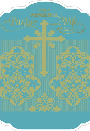 Thankful Hearts for Clergy and Wife Appreciation Card