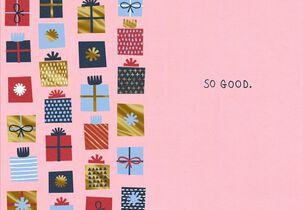 So Good Christmas Card