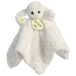 "Aurora Precious Moments 4.5"" Luffie Lamb Blanket Rattle, , large"