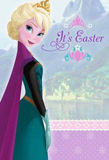 Disney Frozen Queen Elsa Easter Card,