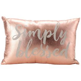 Simply Blessed Pillow, 18x12 Rectangle, , large