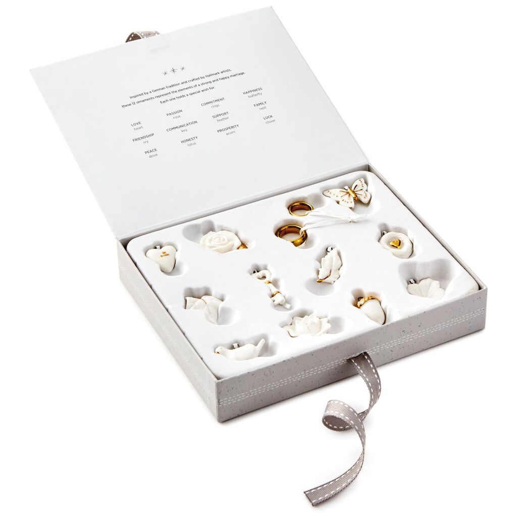 Wedding Wishes Mini Ornaments