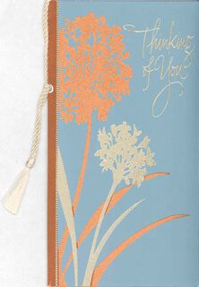 Floral Thinking of You Get Well Card,