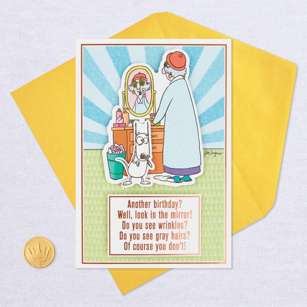 MaxineTM Your Eyesight Funny Birthday Card