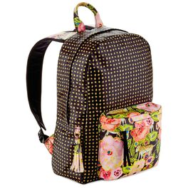 Haute Girls™ Paradise Floral and Dotted Backpack, , large