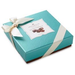 7.6 oz. Milk Chocolate Sea Salt Caramels in Gift Box, , large