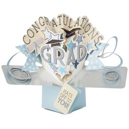 Hats Off to You Pop-Up Card for Him, , large