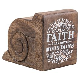 DaySpring Faith Can Move Mountains Architectural Plaque, 2.75x4, , large