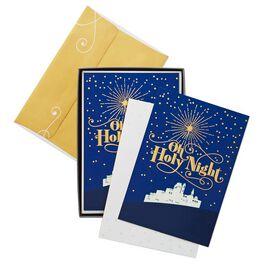 O Holy Night Christmas Cards, Box of 16, , large