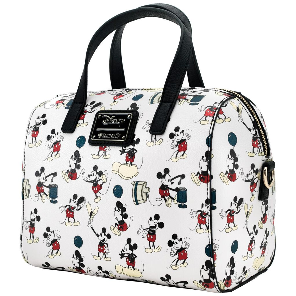 Loungefly Mickey Mouse Duffle Handbag - Handbags   Purses - Hallmark a954fc3a29bb0