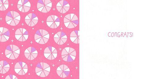 Yippee! New Baby Girl Congratulations Card,