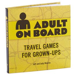 Adult on Board: Travel Games for Grown-Ups Book, , large