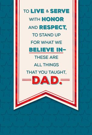Dad, You're an Inspiration Father's Day Card