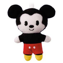 Keepsake Kids Mickey Mouse Plush Ornament, , large