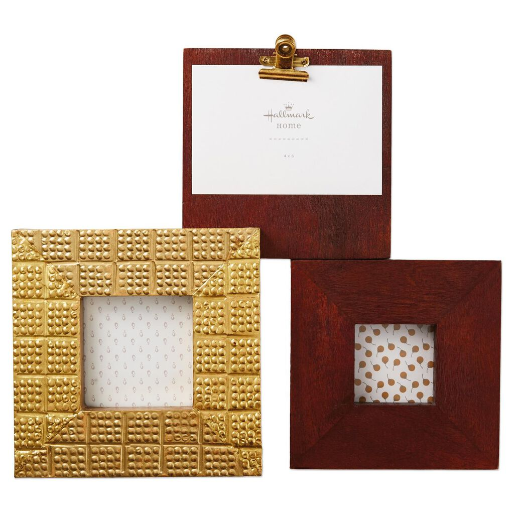 Standing Multi-Photo Frame 4x6, 4x4 and 3x3 - Picture Frames - Hallmark