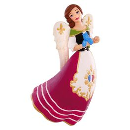 France: Angels Around the World Ornament, , large