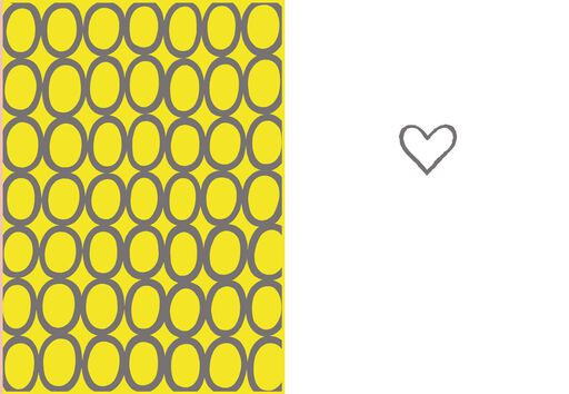 Hearts Blank Love Card,