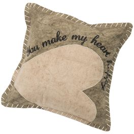 Primitives by Kathy You Make My Heart Happy Pillow, , large