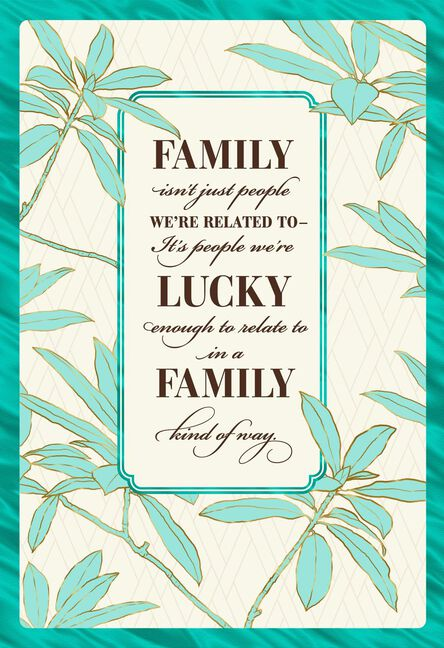 Lucky To Love You Like A Son Birthday Card