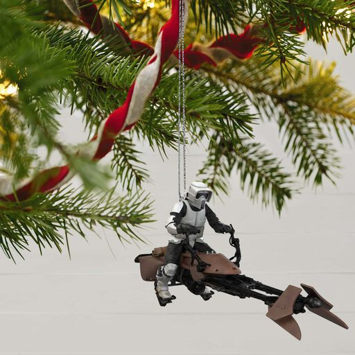 4932b2bbe018d ... Star Wars  Return of the Jedi™ A Wild Ride on Endor Ornament With Sound