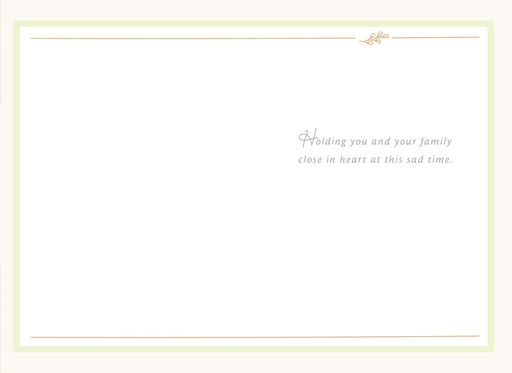 Eucalyptus Leaves Care and Concern Card,