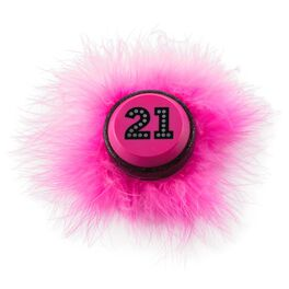 21st Birthday Wearable Sound Button, , large